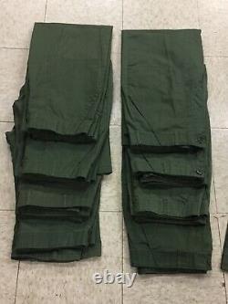 (16 Items) Air Force / Uniforms / Fatigues / Utility / Sets / 8 Shirts / 8 Pants