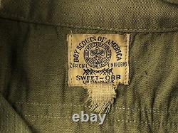 1940s Union made Boy Scouts of America Amsterdam Uniform Shirt pants belt More