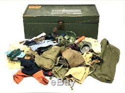 1960s Gi Joe Vintage Clothing Lot Pants Shirts Hats Uniform Camo Hasbro
