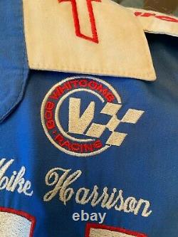 1980's NASCAR Winston Cup Purolator Pit Uniform XL Shirt Pants 33x29