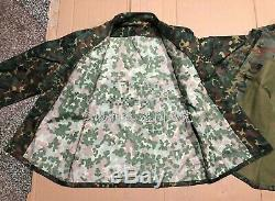 2011's China Armed Police Force Special Forces Woodland Camo Combat Jacket, Pants