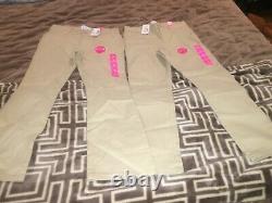 4 pants 3 shorts 6 short sleeve shirts and 2 long sleeve uniform shirts for girl