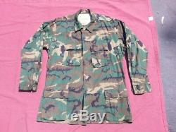 6 Pcs Camouflage Erdl Pants Coat Shirt Us Military Vietnam Green & Brown Dominan