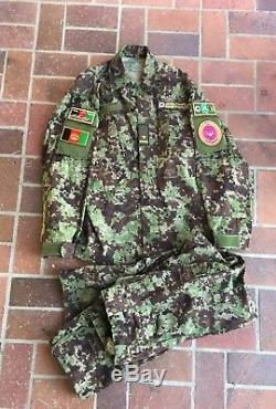 Afghan National Army Uniform Camouflage Digital shirt pants trousers ANA OEF