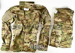 Aircrew Multicam Flame Resistant FR A2CU Pants Shirt Set SL Small Long
