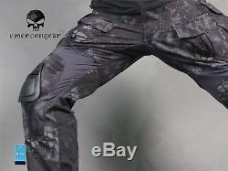 Airsoft Army Tactical Uniform Emerson Combat G3 Uniform Shirt Pants TYP
