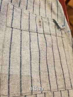 Antique Baseball Uniform 1910-20 Buffalo Bisons Shirt Pants Great Condition