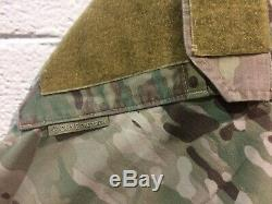 Army Crye Multi cam Camo Shirt Pants Medium Well Used Faded