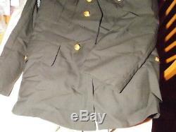 Army Dress Green Uniform- Pants, shirt, tie, coat
