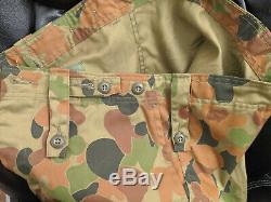 Aussie Camouflage Set Shirt and Pants NEW WITH TAGS 1989