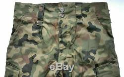 Authentic Polish Army Pants + Shirt Uniform Woodland Camouflage Rip-stop Poland