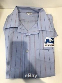 BUNDLE of 7 NEW USPS Letter Carrier Uniform Shirt, Zip Up Hoodie and Pants