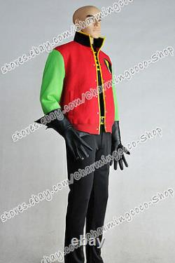 Batman Cosplay Thrillkiller Robin Costume Jacket T-shirt Pants Uniforms Outfit