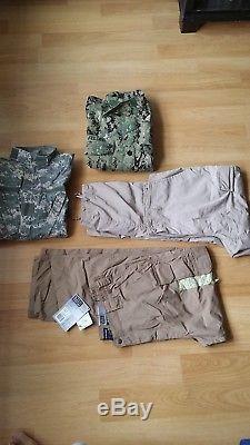 Bdu Acu Navy Seal Aor Us Army Shirt Jacket Trousers Pants 5.11 Tactical Lot