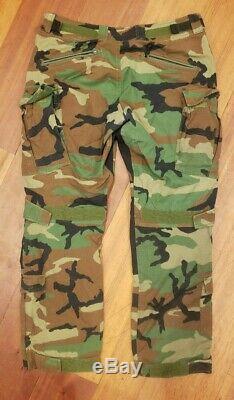 Beyond Clothing A9 Advanced Mission Pants (Medium) + Shirt (Large) Woodland