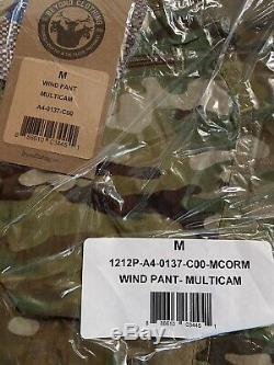 Beyond Clothing Axios A4 Wind shirt and Pants multicam U. S. A. Medium