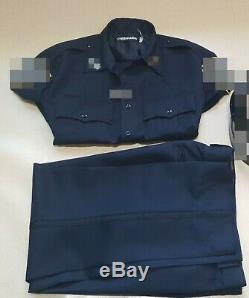 Blauer NYPD navy uniform shirt pant set