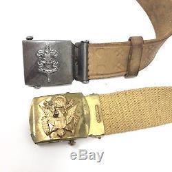Boy Scout's Of America Vintage (LOT) 10 Piece Collectible Shirt Pants Belts Hat