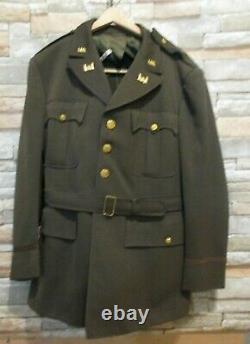 Brig General John Hewitt WWII Grouping 2 Tunics, Ike Jacket, Shirt, 3 pair Pants
