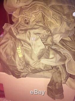 Bulk Lot 20 kg/44 lbs Idf Zahal Israeli Army Uniform Shirts and Pants Clothes