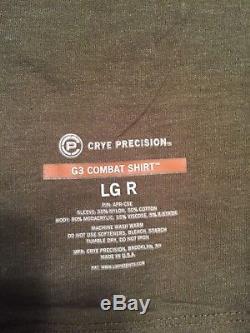 CRYE PRECISION G3 combat shirt, combat pants and field shirt RANGER GREEN