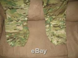 CRYE PRECISION Multicam G3 Field Pant and Shirt Small
