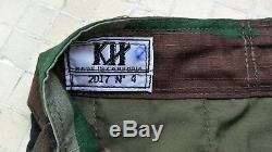 Cambodia Royal Cambodian Army Woodland Camouflage Uniform Shirt Pant Size LARGE