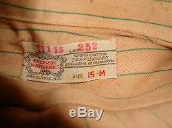 Coca Cola 1940s Green Stripe Uniform Pants & Shirt