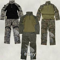 Combat Uniform Tactical Clothing Set Longe Sleeve Shirt Pants Trousers Hunting