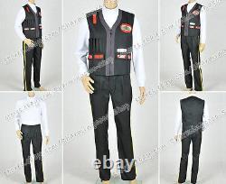 Cosplay Costume for Star Trek Chief Engineering Scotty Uniform Shirt Vest Pants