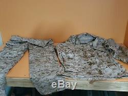 Crye Precision AOR1 DGII Navy Custom Field Pants and Shirt 34 R MEDIUM REGULAR