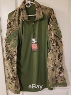 Crye Precision AOR2 G3 Combat Pants 36 Short and Navy Custom Combat Shirt XL R