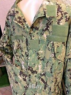 Crye Precision AOR2 NC Field Shirt L -R & Field Pants 34R /32 NSW DEVGRU SWCC