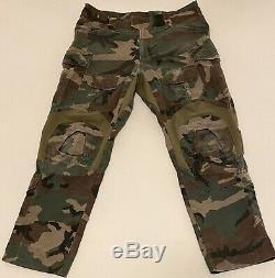 Crye Precision DRIFIRE G3 Combat Shirt LR / Pant 36R / Woodland / Marine Raider