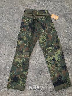 Crye Precision Flecktarn Combat Pants 32L & Shirt MDL RARE NEW LBT Eagle AOR 1 2