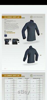 Crye Precision G3 Combat Pants 34R Pants and COMBAT SHIRT LG/ R top LAC