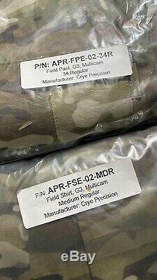 Crye Precision G3 Field Set (pant + Shirt) Mr / 34r