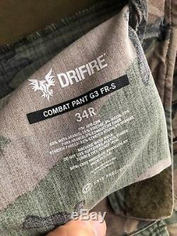 Crye Precision G3 M81 woodland Pants 34R shirt MR, uniform set MARSOC DRIFIRE