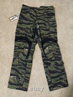 Crye Precision G3 OV Tiger Stripe Combat Shirt Med Reg/Combat Pant 32 R