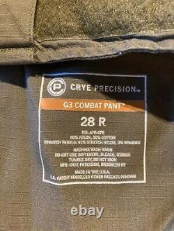 Crye Precision G3 combat pants withpads ranger green with Under Armour combat shirt