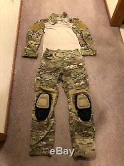 Crye Precision Multicam AC Combat Pants & Shirt 30R SEAL CAG NSW DEVGRU
