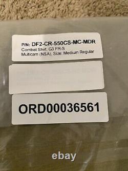 Crye precision drifire G3 Combat Pants/shirt Set MULTICAM 32r/med Reg