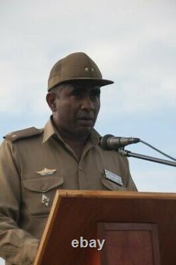 Cuban uniform Colonel FAR military shirt pants ranks cap army