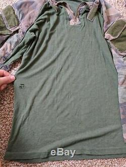 Cyre Precision / Combat Pants 34L Shirt size MR Woodland Camo MARSOC/ SOF