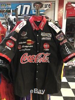Dale Earnhardt Jr. Coca Cola Japan Race Used Pit Crew Uniform Shirt & Pants
