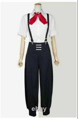 Death Parade Nona Shirt Pants Uniform Cosplay Costume Halloween