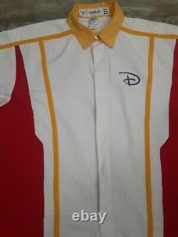 Disneyland Cast Member Parking Lot Uniform Shirt Sz. M-Pants Sz. 32-30 Yr 02-03