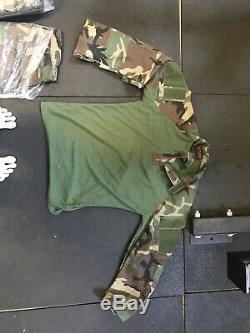 DriFire USMC Woodland Pants & Shirt-LS/MR- MARSOC RAIDER