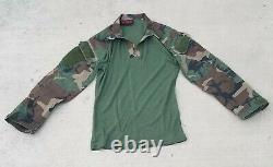Drifire M81 Woodland Set, Medium Short shirt, Med Reg Pants MARSOC, MARINE RAIDER