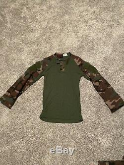 Drifire Woodland M81 Combat Shirt And Pants Size Medium Long